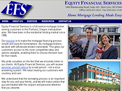 Equity Financial Services